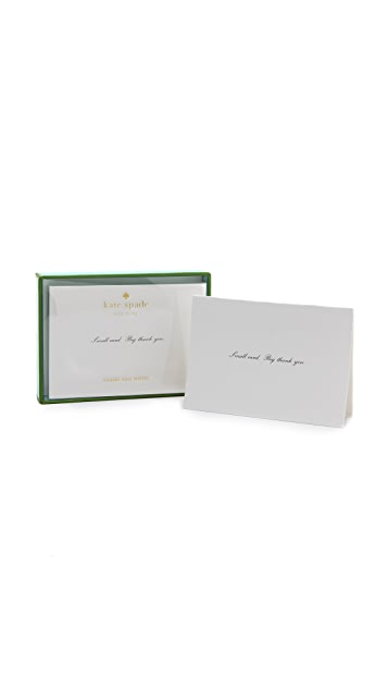 Kate Spade New York Thank You Notes