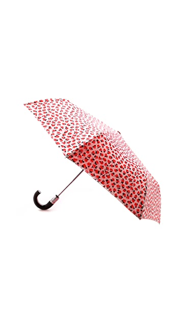 Kate Spade New York Rose Travel Umbrella