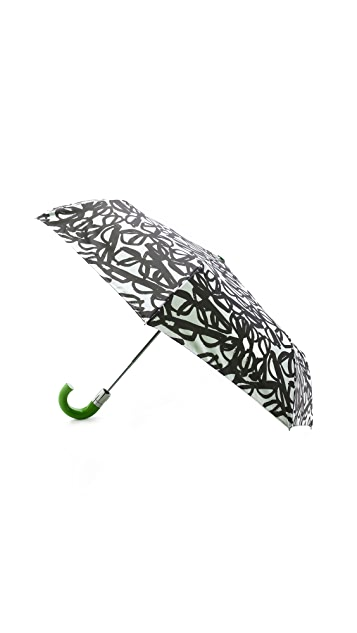 Kate Spade New York Literary Glasses Travel Umbrella