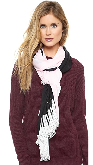 Kate Spade New York Grand Piano Scarf