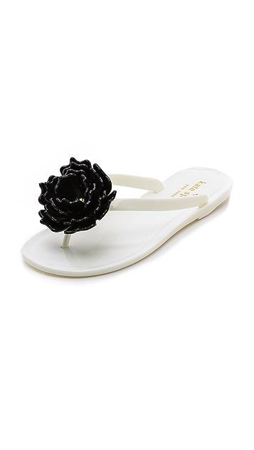 Kate Spade New York Flower Flip Flops