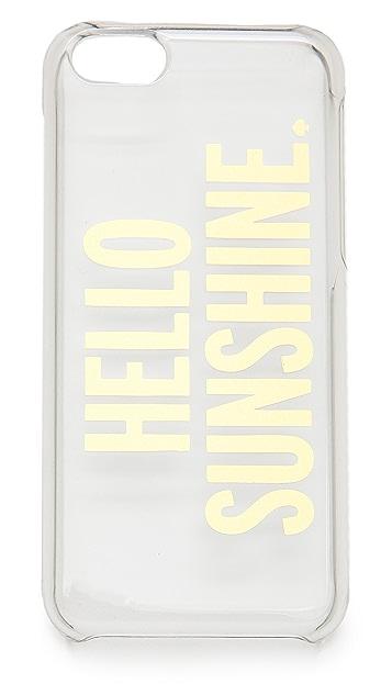 Kate Spade New York Hello Sunshine iPhone 5c Case
