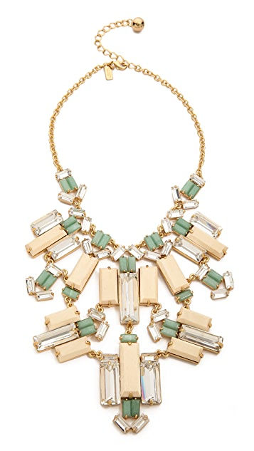 Kate Spade New York Centro Tiles Statement Necklace