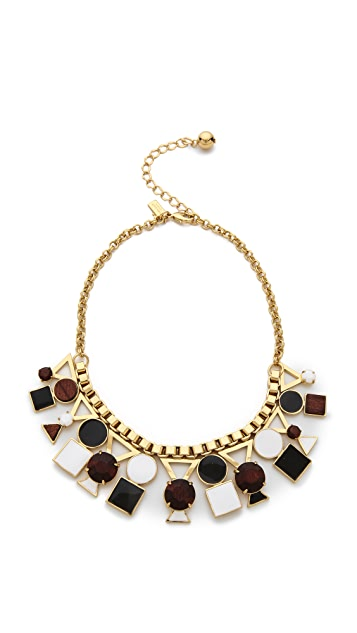 Kate Spade New York Ipanema Tile Short Necklace