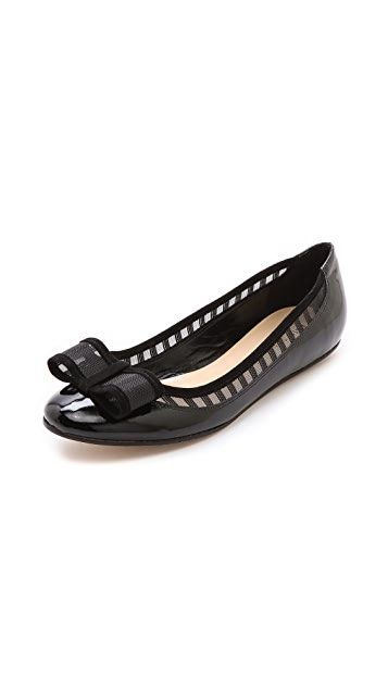 Kate Spade New York Brent Stripe Mesh Flats