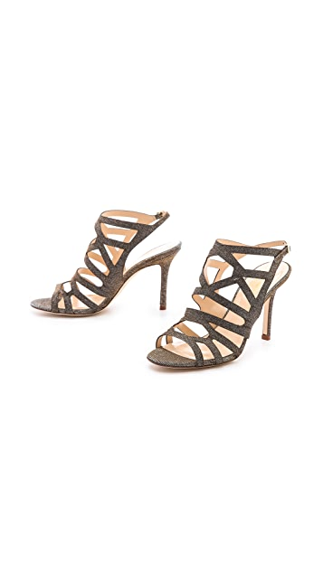 Kate Spade New York Illia Metallic Sandals