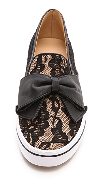 Kate Spade New York Delise Bow Slip on Sneakers