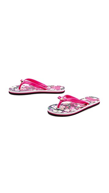 Kate Spade New York Fiji Printed Flip Flops
