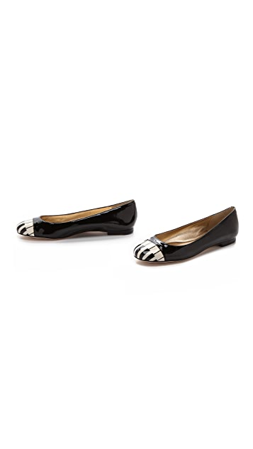 Kate Spade New York Jazz Cap Toe Piano Flats