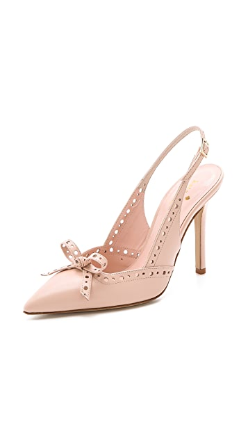 Kate Spade New York Lali Bow Slingback Pumps
