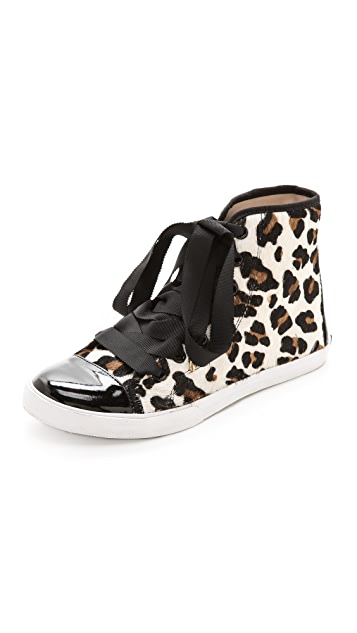 Kate Spade New York Linus Haircalf High Top Sneakers