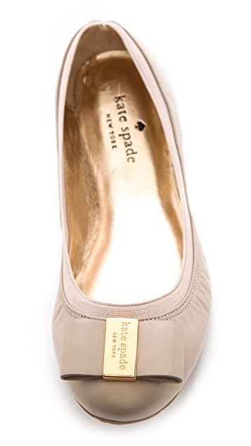Kate Spade New York Tock Bow Flats