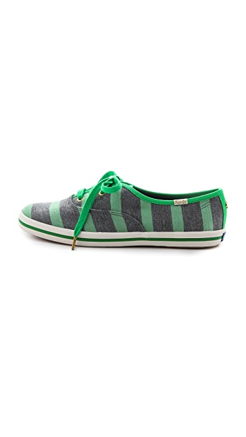 Kate Spade New York Keds for Kate Spade Kick Striped Sneakers