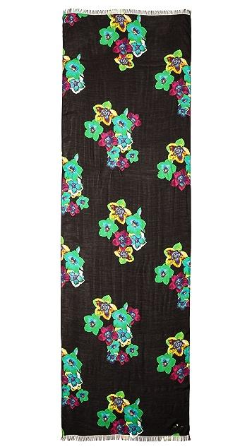 Kate Spade New York Kimono Floral Scarf