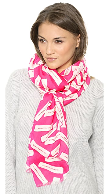 Kate Spade New York Fortune Cookie Scarf