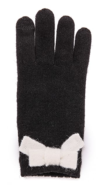 Kate Spade New York All The Trimmings Bow Gloves