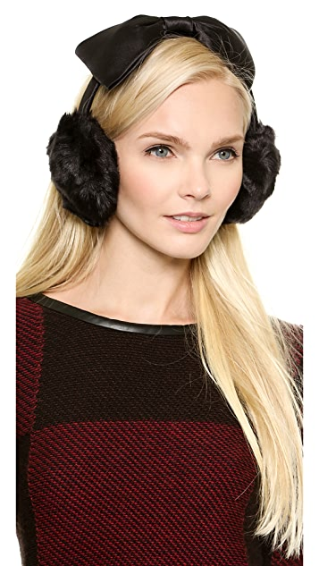 Kate Spade New York Earmuffs With Bow Headband