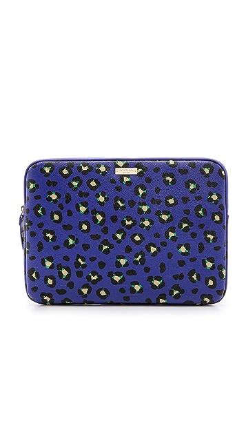 Kate Spade New York Cyber Cheeta Laptop Sleeve