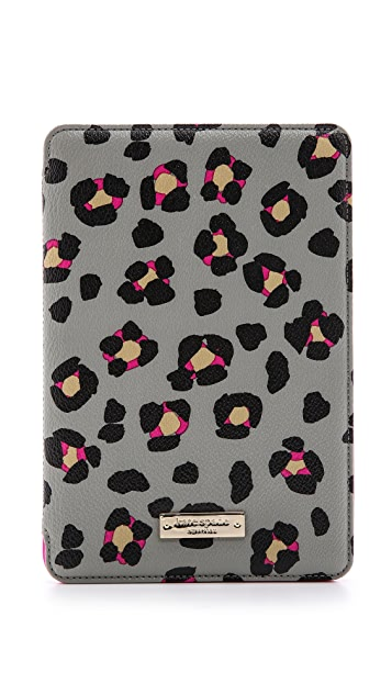 Kate Spade New York Cyber Cheetah mini iPad Folio Hardcase