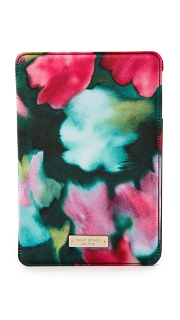 Kate Spade New York Jade Floral Mini iPad Folio Hard Case