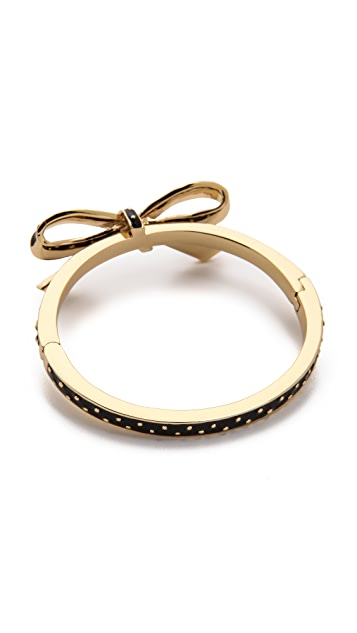 Kate Spade New York Finishing Touch Polka Dot Bangle Bracelet