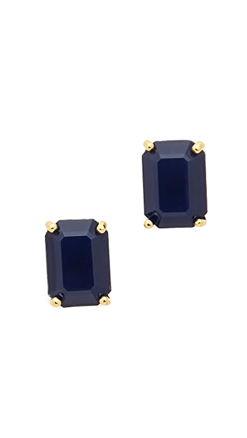 Kate Spade New York Rectangle Cut Stud Earrings