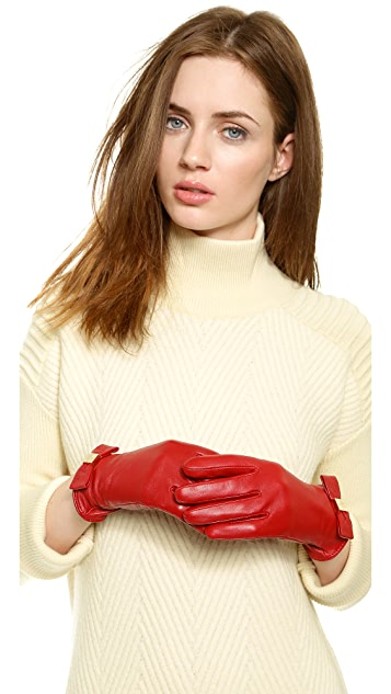 Kate Spade New York Bow Logo Gloves