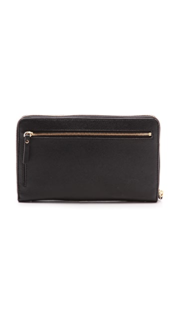 Kate Spade New York Landson Zip Around Continental Wallet