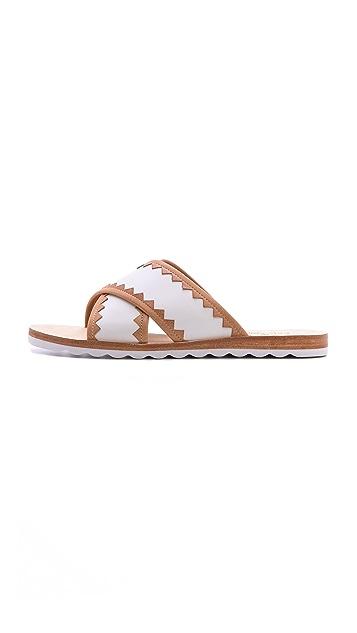 Kate Spade New York Aurora Cross Strap Sandals