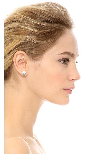 Kate Spade New York Light the Lanterns Circle Stud Earrings