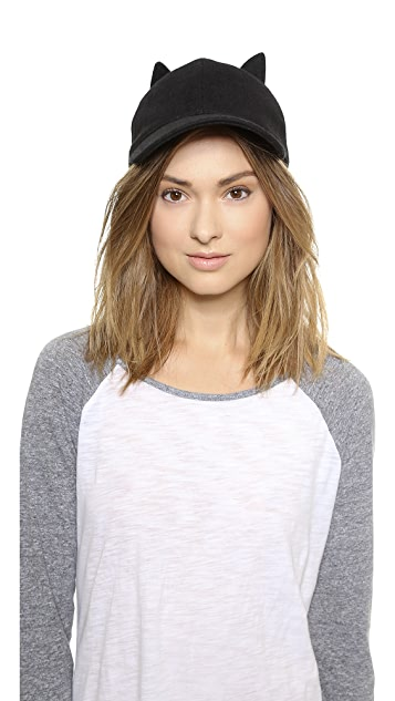Kate Spade New York Las Vegas Cat Baseball Hat