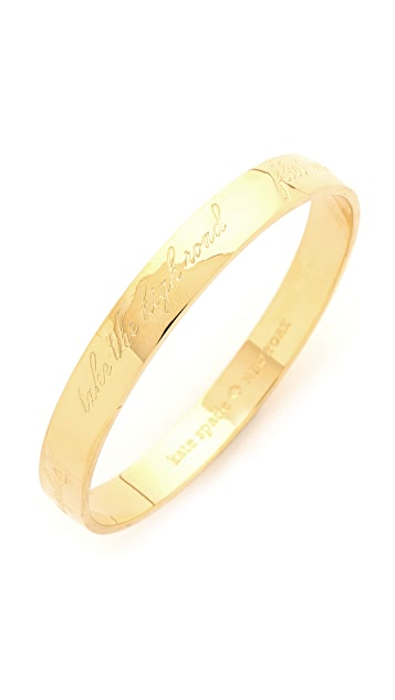 Kate Spade New York This Is The Year To Bangle Bracelet