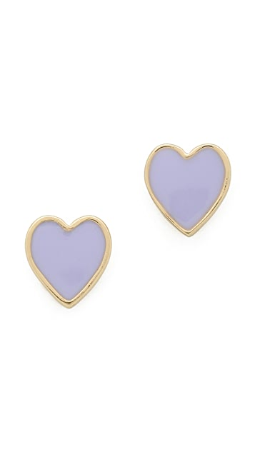 Kate Spade New York Dear Valentine Stud Earrings