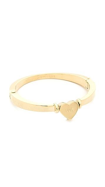 Kate Spade New York Dear Valentine Hinge Bracelet