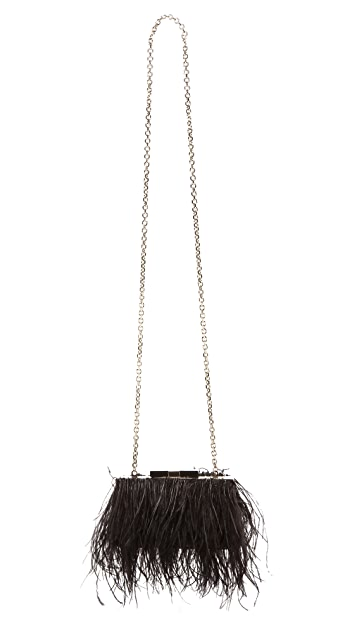 Kate Spade New York Evening Belles Feather Mini Bag
