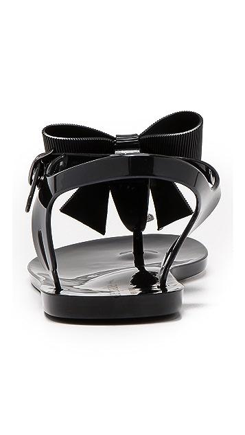 Kate Spade New York Flise Bow Jelly Sandals