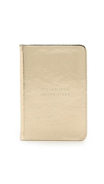 Kate Spade New York Written in the Stars Mini Notebook