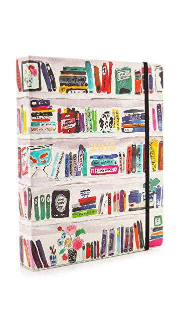 Kate Spade New York Bella Bookshelf 17 Month Agenda