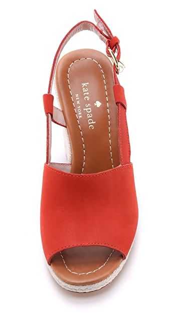 Kate Spade New York Bowdon Wedge Espadrilles