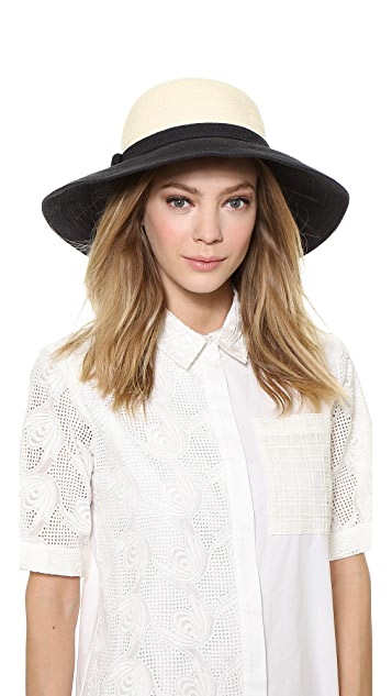 594764736 Colorblock Webbing Sun Hat