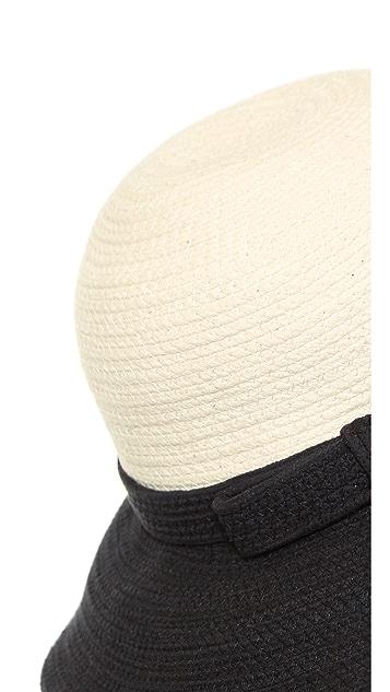 Kate Spade New York Colorblock Webbing Sun Hat