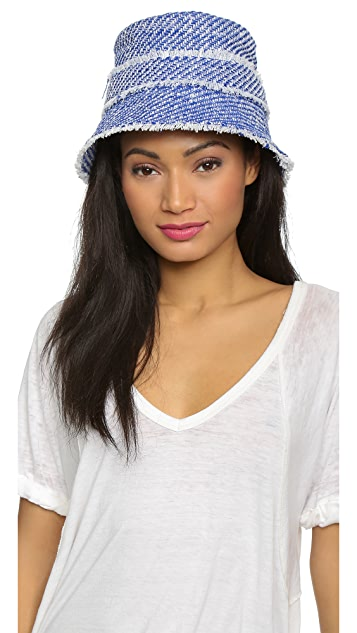 73c6ffbb9bf Kate Spade New York Graphic Tweed Bucket Hat