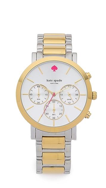 b493e4663 Kate Spade New York Gramercy Two Tone Watch | SHOPBOP