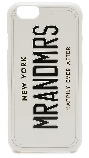 Kate Spade New York Mr & Mrs Wedding Belles iPhone 6 Case