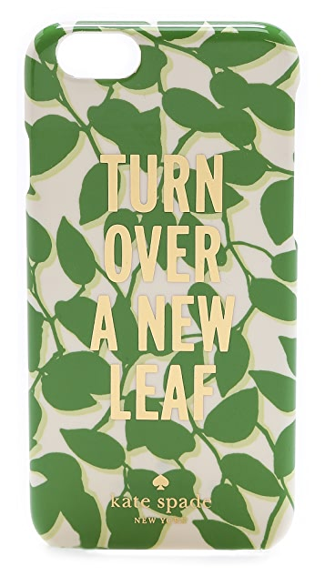 Kate Spade New York Turn Over a New Leaf iPhone 6 Case