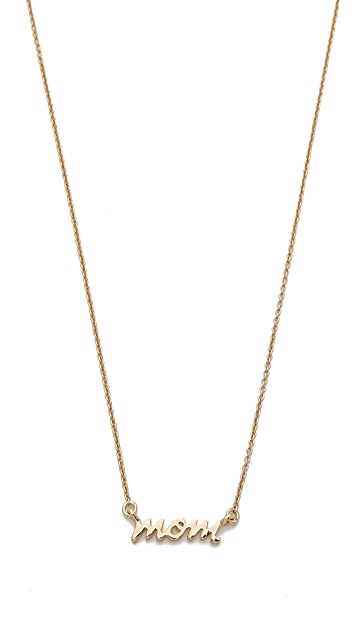 Kate Spade New York Say Yes Mom Necklace