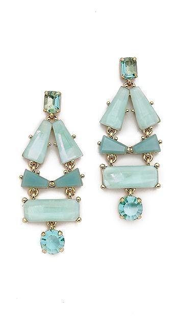 Kate Spade New York Beach Gem Statement Earrings