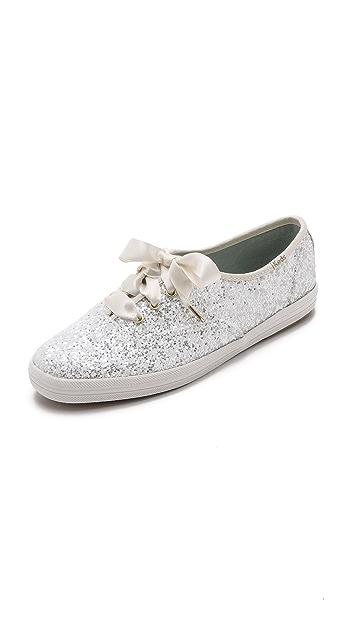 Kate Spade New York Glitter Keds Sneakers