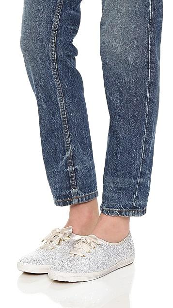 a116b730cc0d ... Kate Spade New York Glitter Keds Sneakers ...