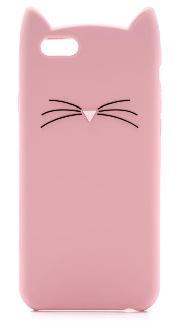 Kate Spade New York Silicone Cat iPhone 6 / 6s Case